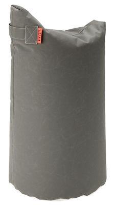 Pouf Satellite Large / H 78 cm - Trimm Copenhagen gris en tissu