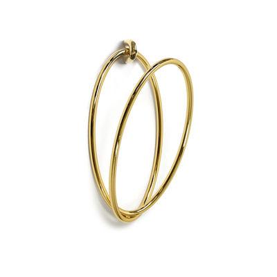 Möbel - Garderoben und Kleiderhaken - Ring / Für Senzatempo Garderobenständer - Opinion Ciatti - Gold 24 Karat - 24 Karat vergoldeter Stahl