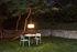 Toní Bistreau Round table - / Ø 80 cm - Parasol hole + removable candle holder by Fatboy