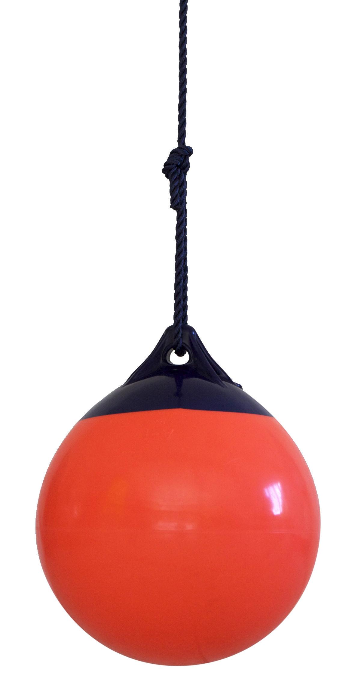 Outdoor - Déco et accessoires - Balançoire Ball - FAB design - Rouge grenadine - Polyester, PVC