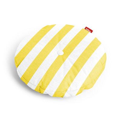 Coussin d'extérieur Circle Pillow / Ø 50 cm - Fatboy jaune en tissu