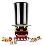 Distributeur de bonbons Candyman Circus Edition limitée numérotée Alessi multicolore en métal