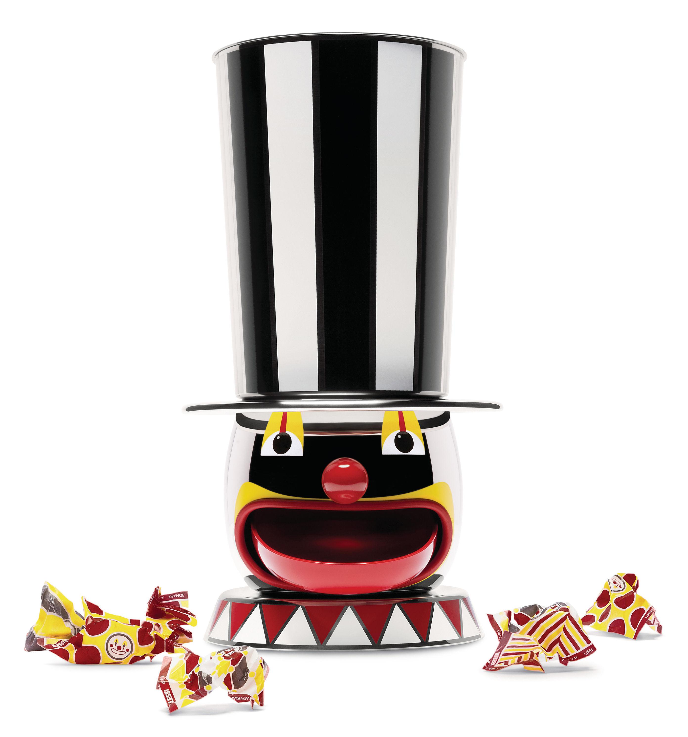 Arts de la table - Accessoires - Distributeur de bonbons Candyman /  Circus - Edition limitée numérotée - Alessi - Multicolore - Acier inoxydable peint