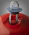 Lampada senza fili Cri Cri LED Outdoor - / H 31 cm - Ricarica USB di Foscarini