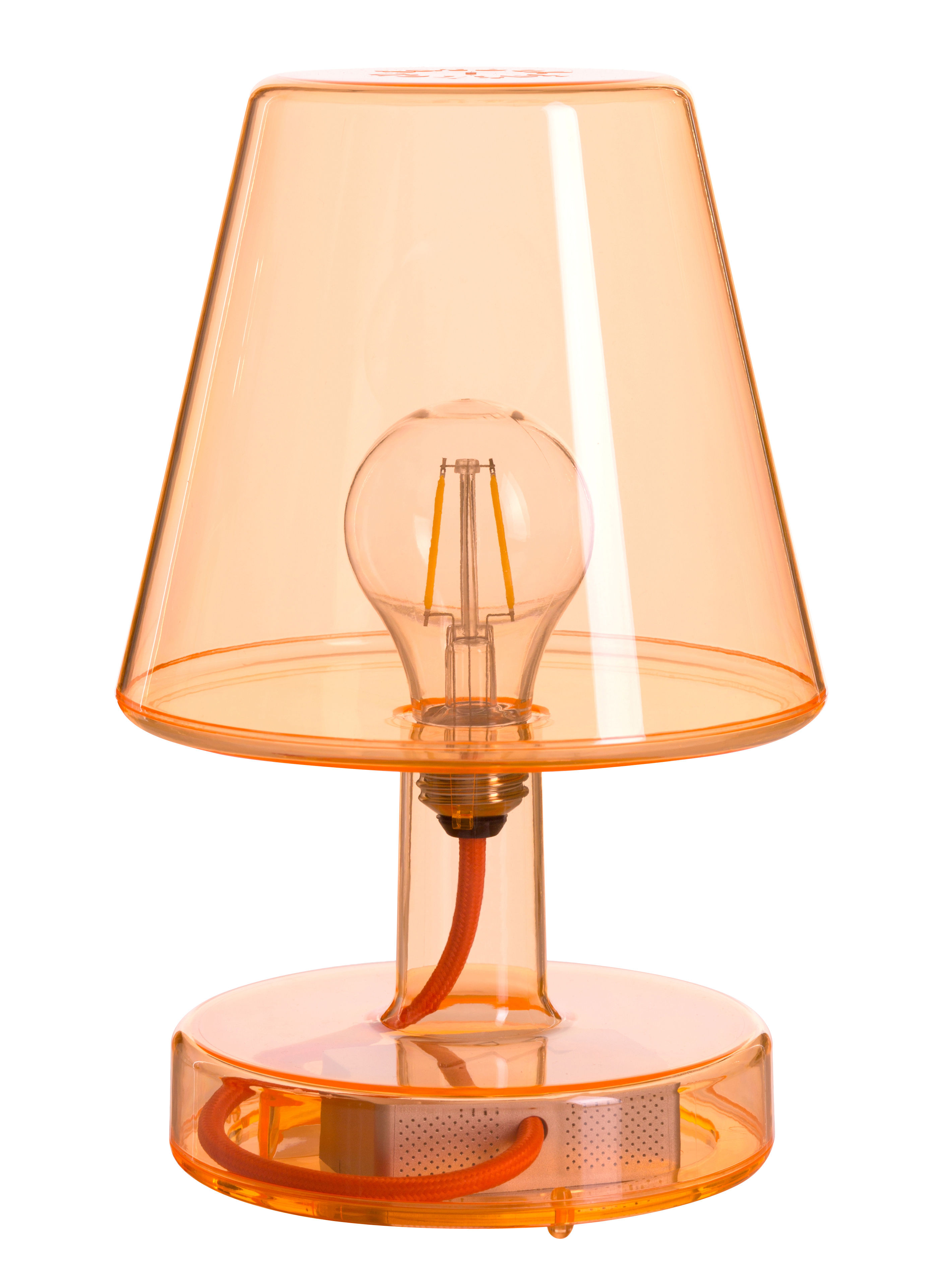 lampe ohne kabel transloetje von fatboy orange h 25 5 made in design. Black Bedroom Furniture Sets. Home Design Ideas