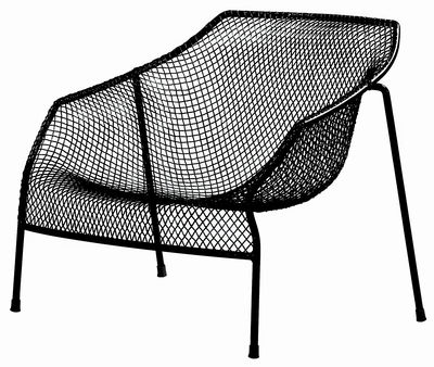 Heaven Lounge Sessel - Emu - Schwarz