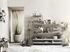 Montante murale String Outdoor - / Acciaio zincato - H 50 x P 20 cm - Set da 2 di String Furniture
