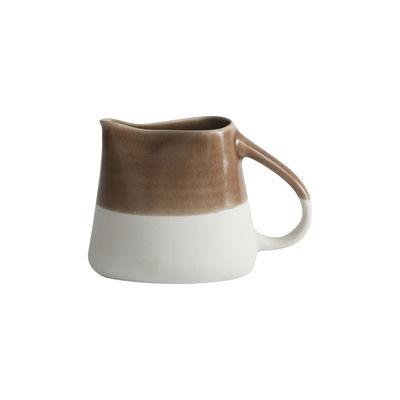 Arts de la table - Carafes et décanteurs - Pichet Maguelone / 75 cl - Grès fait main - Jars Céramistes - Châtaigne - Grès émaillé