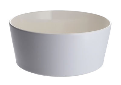 Saladier Tonale Ø 23 cm - Alessi blanc,bleu en céramique