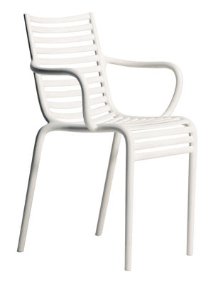 Pip-e Stapelbarer Sessel - Driade - Weiß