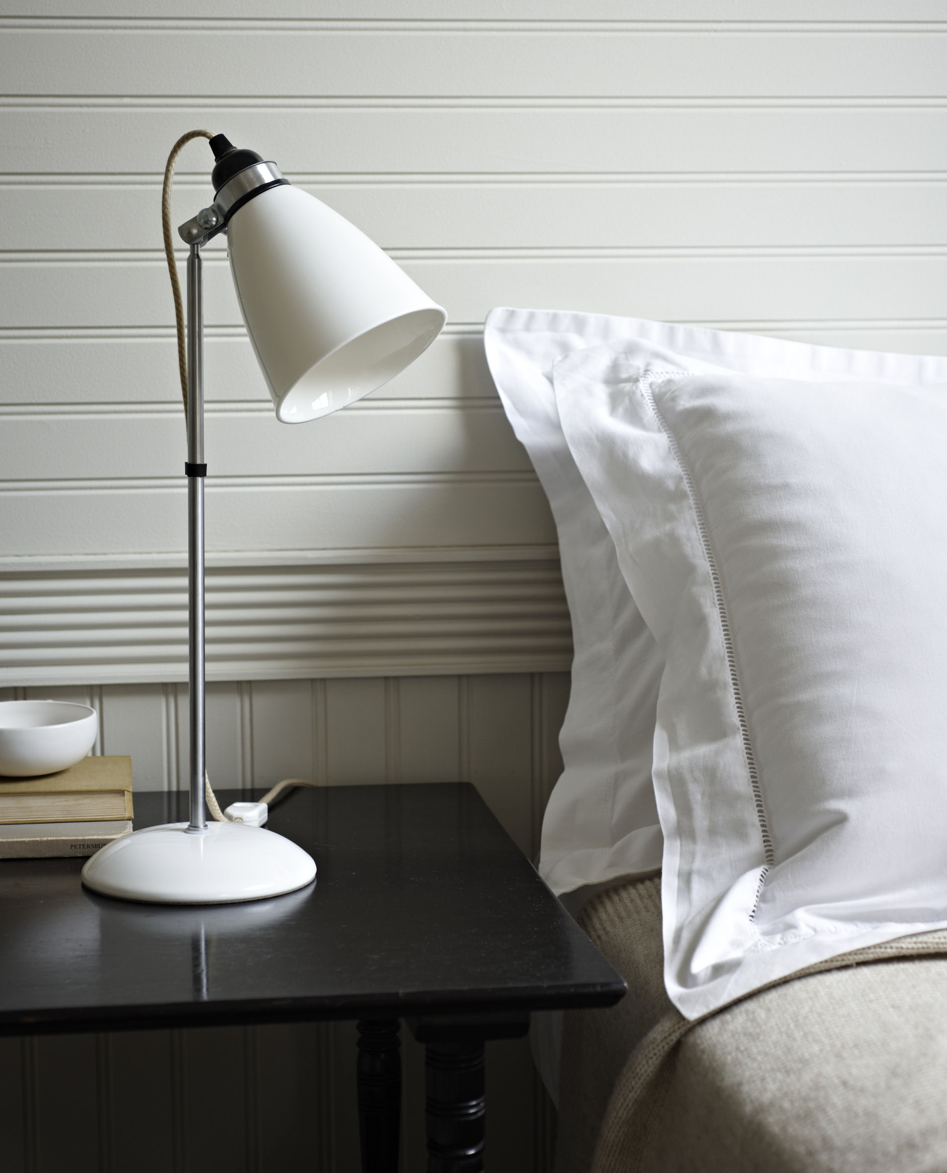 Lighting Table Lamps Hector Dome Lamp H 57 Cm Bone China