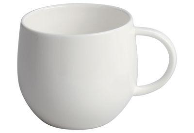 Tischkultur - Tassen und Becher - All-time Teetasse - A di Alessi - Teetasse - weiß - chinesisches Weich-Porzellan