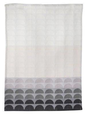 Torchon Bridges - Ferm Living gris,noir en tissu