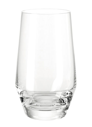 Arts de la table - Verres  - Verre long drink Puccini / H 13 cm - Leonardo - Transparent - Verre Teqton
