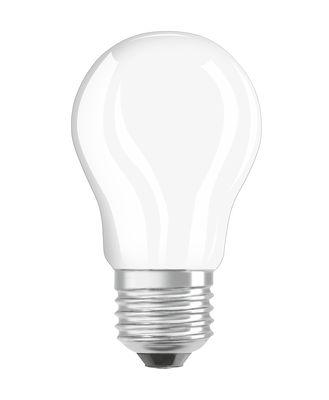 Ampoule LED E27 / Sphérique dépolie - 4W=40W (2700K, blanc chaud) - Osram blanc en verre