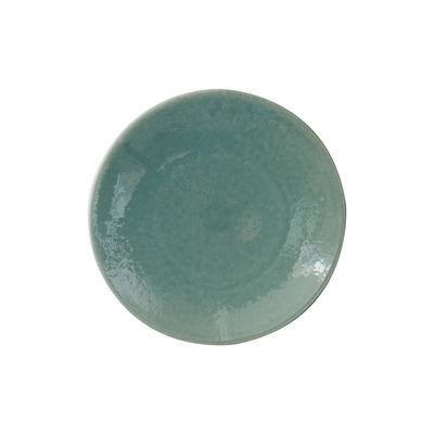 Arts de la table - Assiettes - Assiette à dessert Tourron / Ø 20 cm - Grès fait main - Jars Céramistes - Jade - Grès émaillé