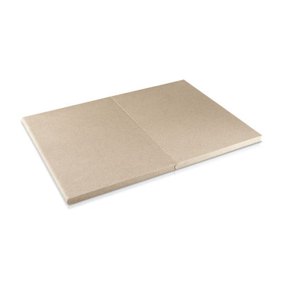 Kitchenware - Kitchen Equipment - Green tool - DoubleUp Chopping board - / Set of 2 magnetic boards by Eva Solo - Beige - Durable composite material