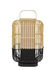 Lampe de table Bamboo Square / Large - H 65 cm - Forestier