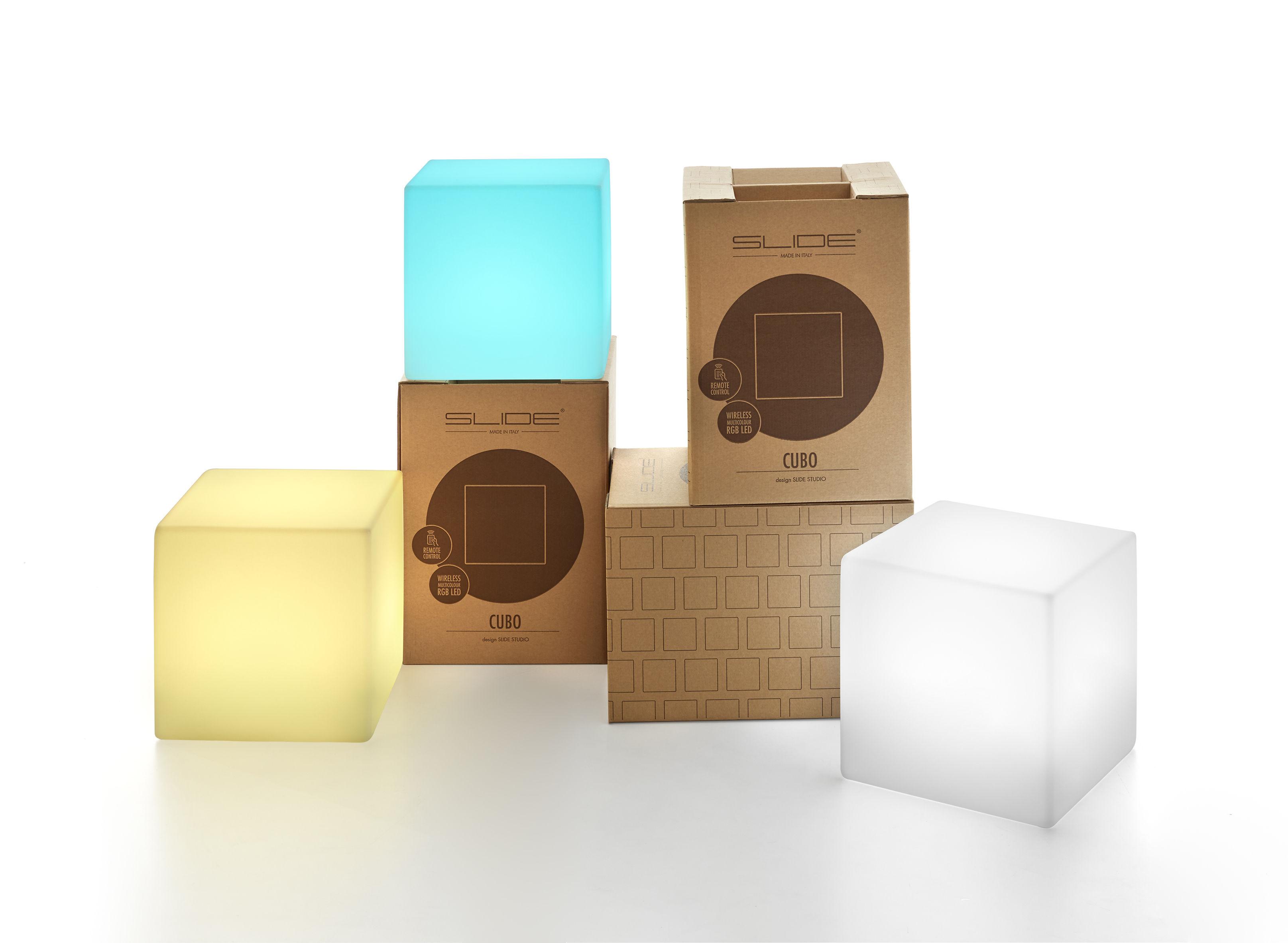 cubo outdoor led kabellos 25 x 25 x 25 cm f r den. Black Bedroom Furniture Sets. Home Design Ideas