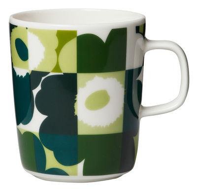Mug Ruutu-Unikko / 25 cl - Marimekko blanc,vert en céramique
