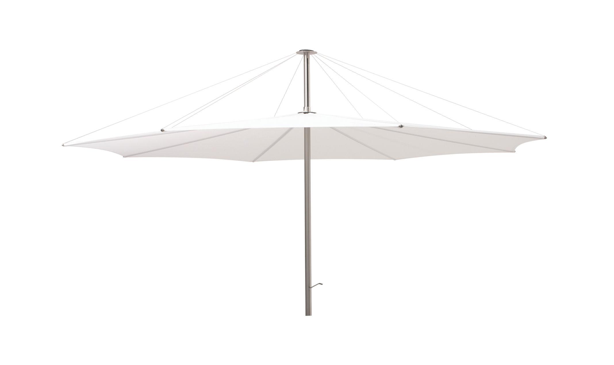 Jardin - Parasols - Parasol Inumbrina Ø 320 cm - Extremis - Parasol blanc - Toile de polyester