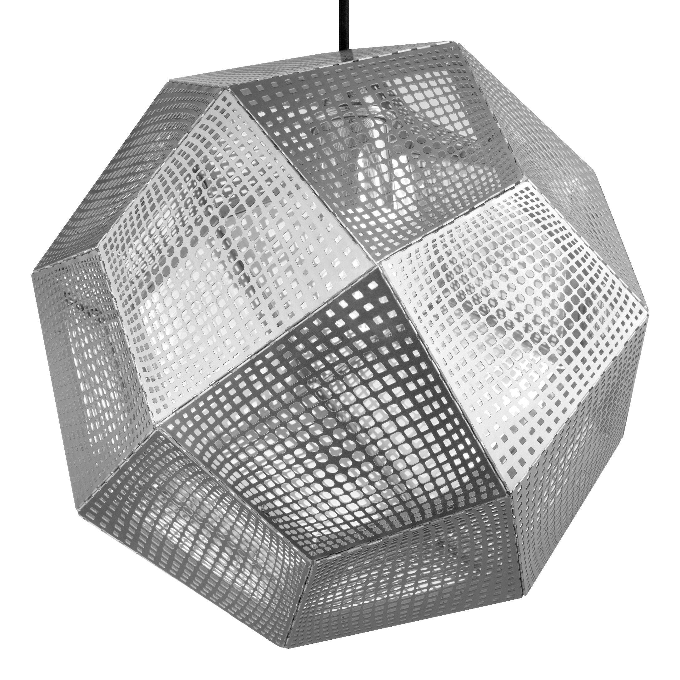 Leuchten - Pendelleuchten - Etch Shade Pendelleuchte - Tom Dixon - Edelstahl - rostfreier Stahl
