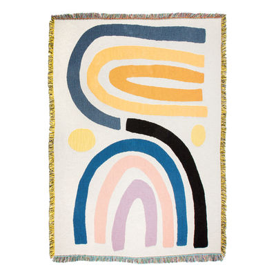 Dossiers - Nuances du sud - Plaid Perry / By Claire Ritchie - 137 x 178 cm - Slowdown Studio - Claire Ritchie - Coton recyclé