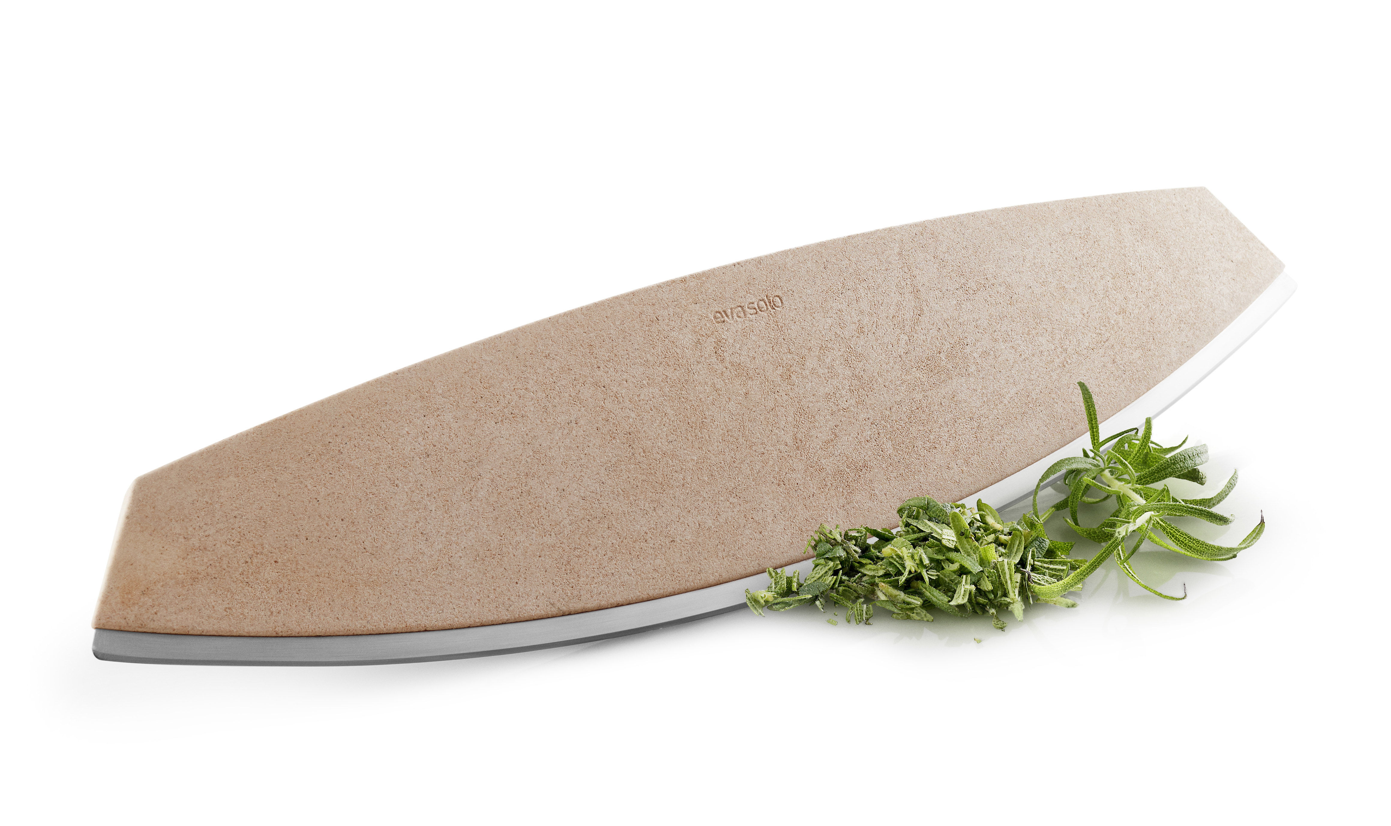 Kitchenware - Kitchen Equipment - Slicer -  for pizza & herbs - L 37 cm by Eva Solo - Beige - Composite material, Stainless steel