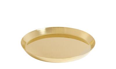 Soucoupe pour pot Botanical Large / Ø18 cm - Hay or en métal