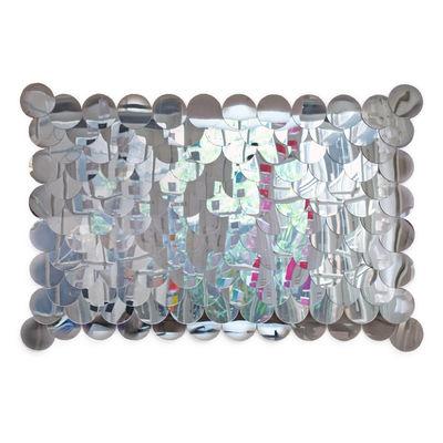 Arredamento - Specchi - Specchio murale Sirène Small - modello piccolo - L 104 x H 69 cm di Tsé-Tsé - Specchio piccolo - 104 x 69 cm - Vetro