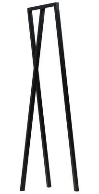 Arredamento - Appendiabiti  - Supporto Loop - L 45 cm di Hay - Nero - Acciaio laccato