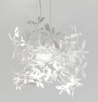 Luminaire - Suspensions - Suspension Ramage LED / Ø 52 cm - Lumen Center Italia - Blanc - Acier