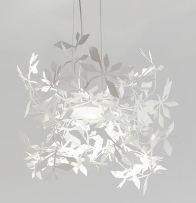 Suspension Ramage LED / Ø 52 cm - Lumen Center Italia blanc mat en métal
