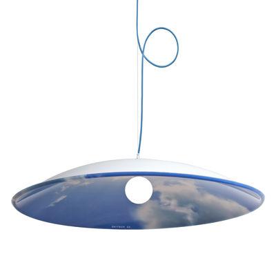 Luminaire - Suspensions - Suspension Skylight Ø 113 cm - Skitsch - Bleu - Polycarbonate