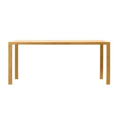 Jardin - Tables de jardin - Table rectangulaire Costes / 300 x 110 cm - Teck - Ethimo - Teck naturel - Teck naturel FSC