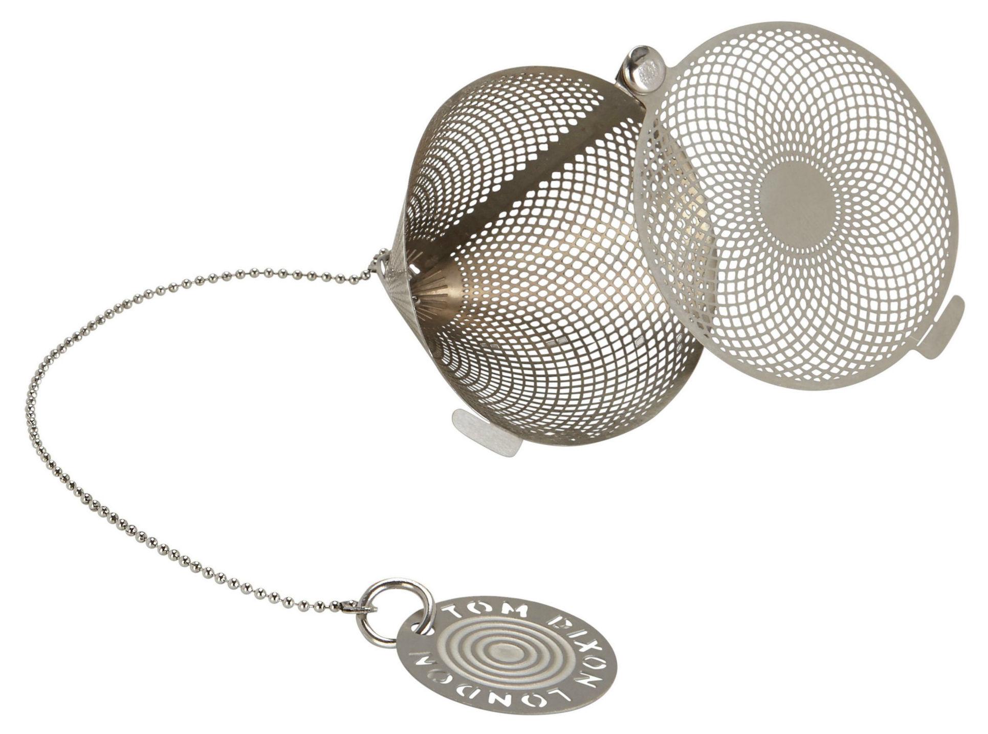 Tischkultur - Tee und Kaffee - Etch The clipper Teekugel - Tom Dixon - Stahl - rostfreier Stahl