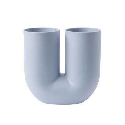 Déco - Vases - Vase Kink / Céramique - Muuto - Bleu clair - Céramique