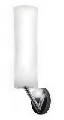 Lighting - Wall Lights - Také 21 Wall light by Lumen Center Italia - White / Chromed base - Aluminium, Polythene