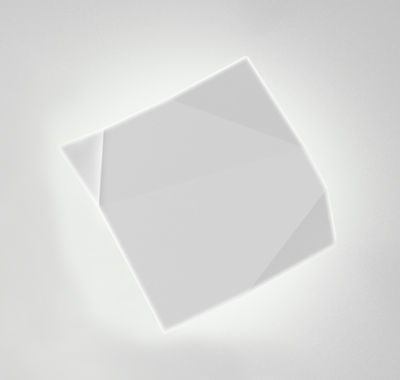Applique d'extérieur Origami LED / Motifs n°1 - Vibia blanc en matière plastique