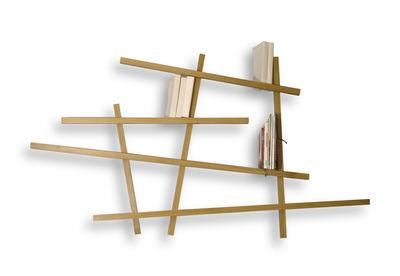 Bibliothèque Mikado / Small - L 185 x H 100 cm - Compagnie chêne en bois