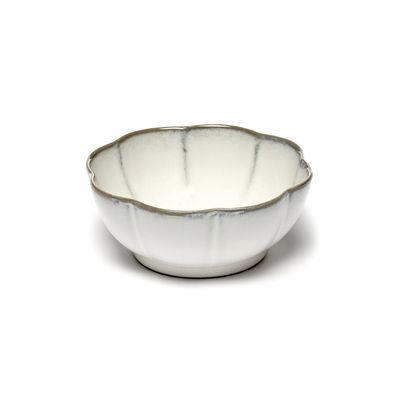 Tavola - Ciotole - Ciotola Inku - / Ø 15 x H 6 cm - Gres di Serax - bianca - Gres smaltato