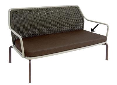 Accessoire canapé / Coussin assise pour banquette Cross - Emu marron d'inde en tissu
