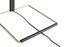 Lampada da tavolo Matin Large - / LED - H 52 cm - Tessuto & metallo di Hay