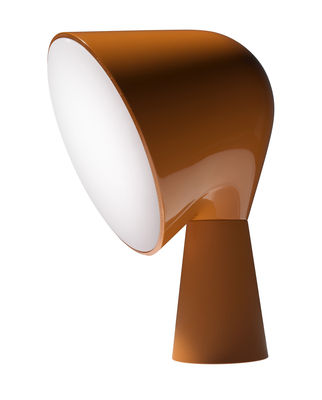 Luminaire - Lampes de table - Lampe de table Binic - Foscarini - Orange - ABS, Polycarbonate
