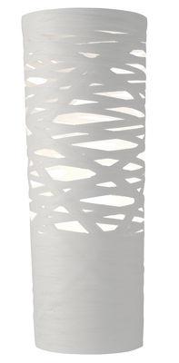 Luminaire - Lampes de table - Lampe de table Tress / H 61 cm - Foscarini - Blanc - Fibre de verre, Matériau composite