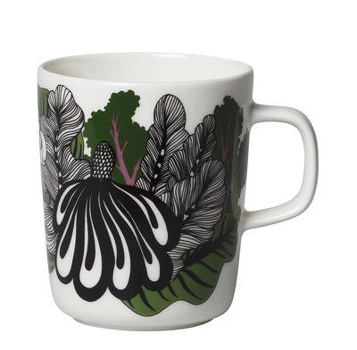 Mug Kaalimetsä / 25 cl - Marimekko noir,vert,violet en céramique