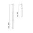 Micro Telescopic Pendant - / Telescopic tubes - H 94/165 cm by Pallucco