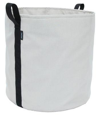 Pot de fleurs Batyline® / Outdoor - 100 L - Bacsac beige gris en tissu