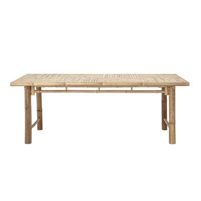 Outdoor - Garden Tables - Sole Rectangular table - / Bamboo - 100 x 200 cm by Bloomingville - Bamboo - Bamboo