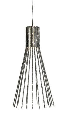 Illuminazione - Lampadari - Lampada a sospensione Batti.batti Large / H 85 cm - Ferro battuto - Opinion Ciatti - Ferro grezzo - Fer martelé